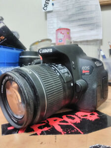 Canon t4i with 18-55 lens/8mm fisheye