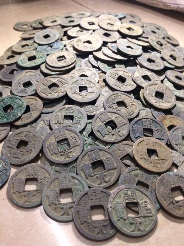Chinese Ancient Kai Yuan Tong Bao Coin 100% Genuine 1pcs (621 AD)-Tang Dynasty