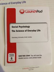 Social Psychology: The Science of Everyday Life (e-text)