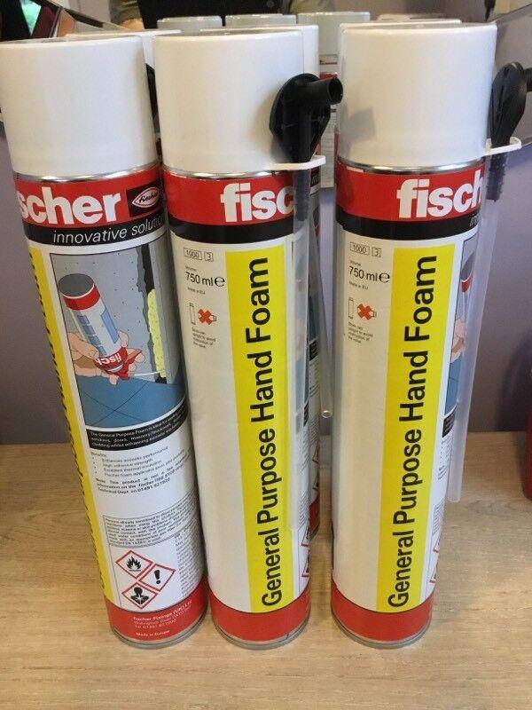 Fisher Expanding foam