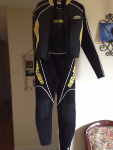 sea doo wet suit