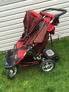 red city jogger  double stroller