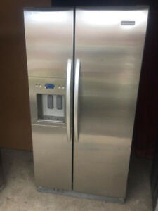 KitchenAid Stainless Steel Double Door Fridge For sale
