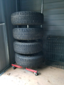Firestone winter tires on rims