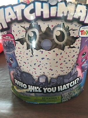 Hatchimals Owlicorn  Pink Blue Egg  Toys R Us Exclusive Cracked Egg