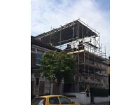 Negotiable pricing, professional scaffolding