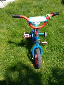 Toddler Spiderman Bike with Training wheels