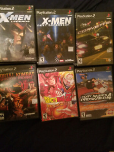 PS2 Games , Over 50 Great Titles !