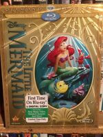 The Little Mermaid on Bluray New and Sealed