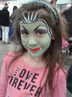 It's MONSTER HIGH Face Painting & Mr. BAZINGA'S Balloon Twisting
