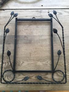 Cadre métal vintage