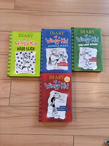DIARY OF A WIMPY KID BOOK SET-$20 TAKES ALL