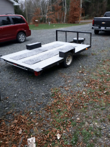 6x10 utility trailer licensed and inspected.