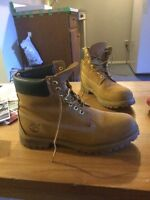 Size 10 authentic Timberlands