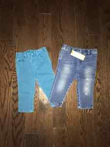 Baby girl jeans $5