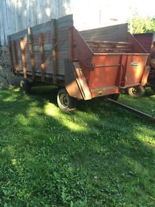 2 forage wagons