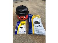 Henry hoover with brand new hose and tools
