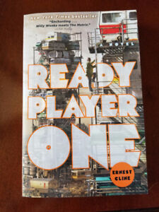Ready Player One - Ernest Cline Soft Cover Loot Crate version
