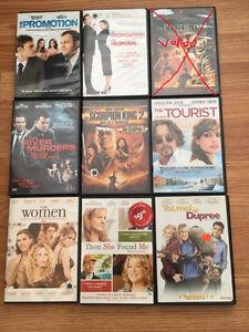 Dvd à 5$ chacun à Granby