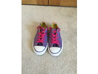 Girls Converse Trainers size 11