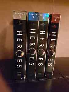 Heroes: Seasons 1-4 DVD--Excellent condition!