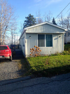 Two bed mobile home in Sackville $850 per month + utilities