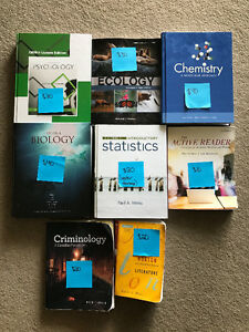 First and Second year textbooks for Science students!