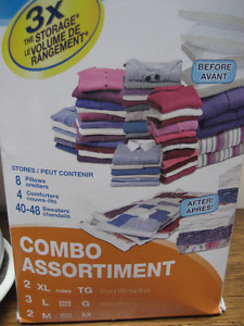 Storage Bags for clothes/comforters etc.