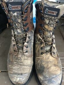 Real Tree Camo Hunting Boots