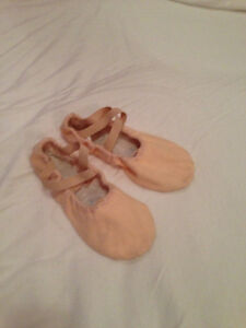 Sansha Split Sole Ballet Shoes - Canvas - Size 4N
