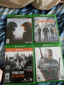 A few Xbox one games for sale!
