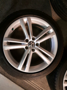 18 inch vw passat rims and tires