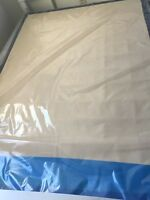 TWO DOUBLE MATTRESSES/BOX SPRING (set in sealed)