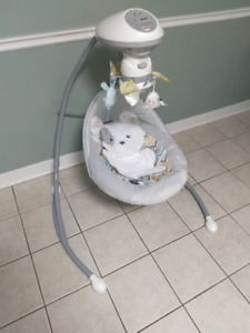 Brand New Fisher Price Sweet Snugapuppy™ Dreams Cradle 'n Swing