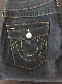 Ladies True Religion billy Jeans