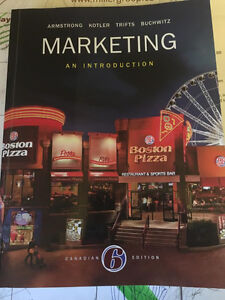 Intro to Marketing ISBN# 978-0-13-409580-6