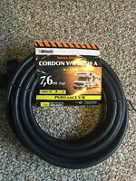 BRAND NEW WOODS R/V Extension cord, 25ft, 30amp