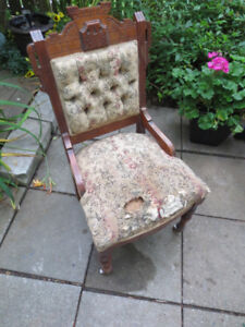 Vintage Chairs and Settee for Recovering Project