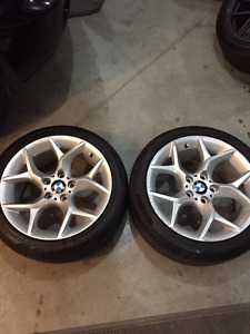 BMW rims - model 6789145 (1 each 8 X 18 and 9 X 18)