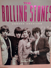 Rolling Stones Large Book of Photos Unseen Archives. Can be viewed!!