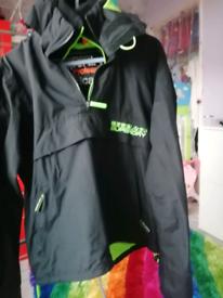 Superdry pullover jacket