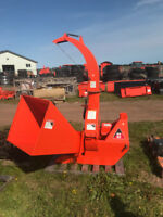 "Wallenstein 6"" BX62S Wood Chipper Moncton New Brunswick Preview"
