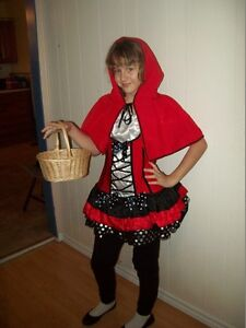 Costume d'Halloween Chaperon Rouge fille 12-14 ans