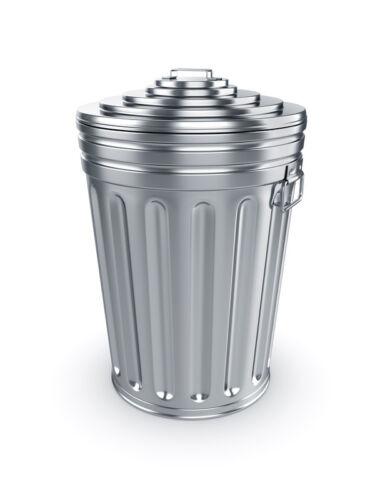 Use an Aluminium Rubbish Bin
