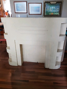 Art Deco Fireplace Mantle