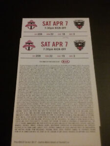 CHEAP TORONTO FC - DC UNITED, UPPER BOWL PAIR AND LOWER SINGLE