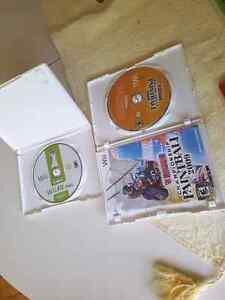 Wii games 15$