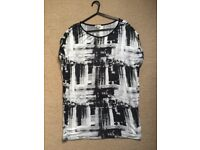 River Island Oversized top size 10/12