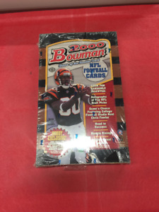2000 Bowman NFL Football Cards Sealed Hobby Box Tom Brady ROOKIE