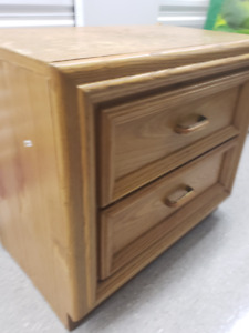 2 Solid Wood Bedside Tables